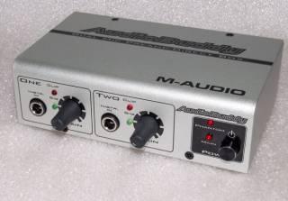 M-AUDIO Audio Buddy микрофонный гитарный предусилитель преамп дибокс