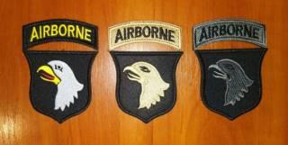 Нашивка (шеврон) US Army (США - USA) Airborne, Special Force, Rangers 4