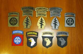 Нашивка (шеврон) US Army (США - USA) Airborne, Special Force, Rangers 2