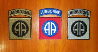 Нашивка (шеврон) US Army (США - USA) Airborne, Special Force, Rangers 5
