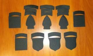 Нашивка (шеврон) US Army (США - USA) Airborne, Special Force, Rangers 3