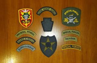 Нашивка (шеврон) US Army (США - USA) - Special Forces, MACV-SOG (лип)