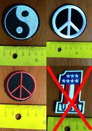 Нашивка на одежду для панков, рокеров (Punk, Biker, Rock) 5