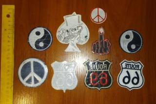 Нашивка на одежду для панков, рокеров (Punk, Biker, Rock) 2