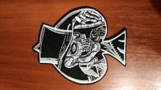 Нашивка на одежду для панков, рокеров (Punk, Biker, Rock) 6