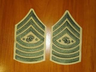 Нашивка (шеврон) US Army, USAF, USMC (США - USA) - звания 3