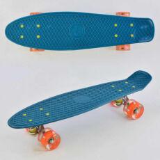 Скейт (пенни борд) Penny Board светящиеся колеса, морская волна