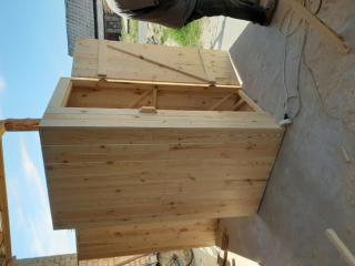 Туалет деревянный, дачный 5
