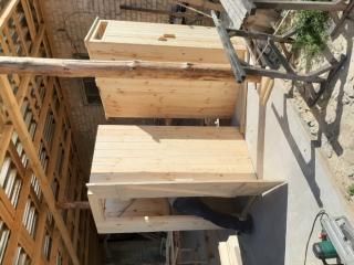 Туалет деревянный, дачный 4