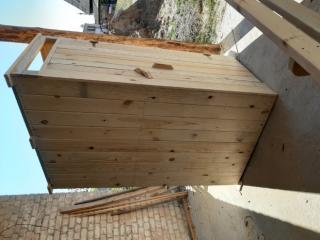 Туалет деревянный, дачный 2
