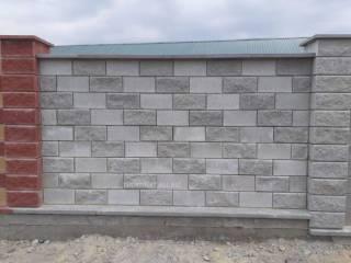 Декоративный Блок под Рваный Камень,390*190*90;390*190*100;390*190*200 8