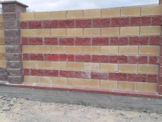 Декоративный Блок под Рваный Камень,390*190*90;390*190*100;390*190*200 9