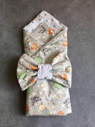 Летний конверт на выписку для малыша 2