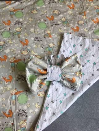 Летний конверт на выписку для малыша 3