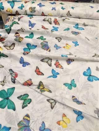 Бабочки 3д - натуральное постельное белье из перкаля 4