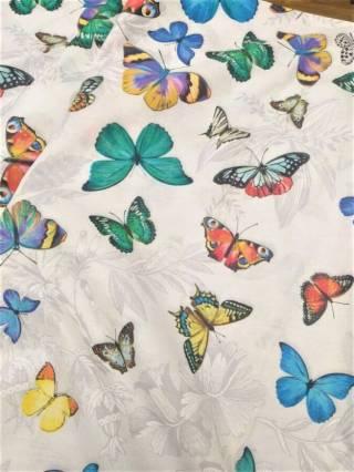 Бабочки 3д - натуральное постельное белье из перкаля 3
