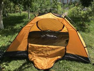 Палатка Terra Incognita Platou 2 dark/green 4
