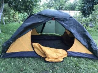 Палатка Terra Incognita Platou 2 dark/green 5