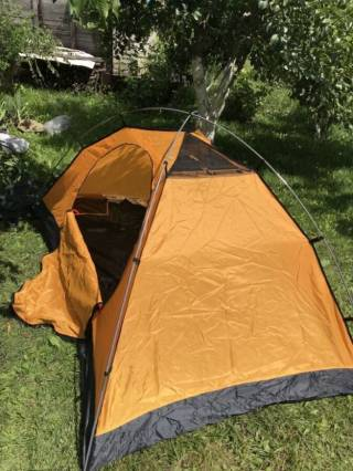 Палатка Terra Incognita Platou 2 dark/green 2