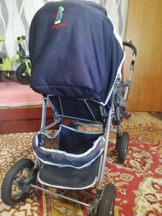 Продаю коляску для ребёнка б/у Пьер Карден 400 грн 4
