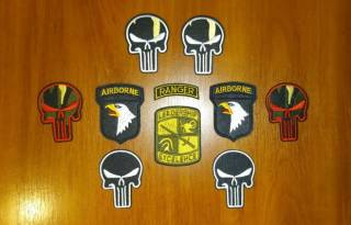 Нашивка (шеврон) US Army (США - USA) - Leadership Excelehce, Ranger