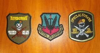 Нашивка (шеврон) US Army (США - USA) - Airborne, Special Forces