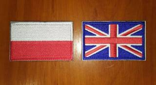 Нашивка (шеврон) - флаги стран мира (липучка) 2
