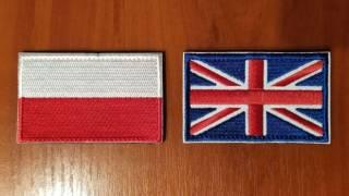 Нашивка (шеврон) - флаги стран мира (липучка)