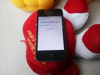1) телефон айфон, iPhone 4