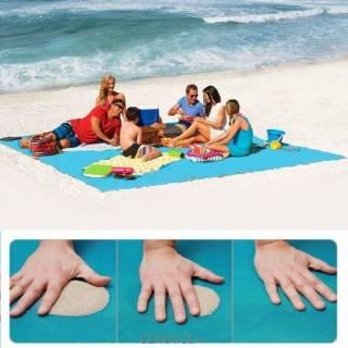 Подстилка пляжная покрывало для пляжа анти песок