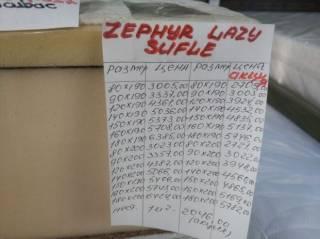 Матрас Zephyr Lazy Sufle 2