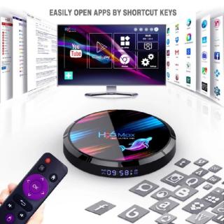 Андроид приставка  H96 MAX X3; 8K; 4/64 gb. 8