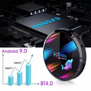 Андроид приставка  H96 MAX X3; 8K; 4/64 gb. 4
