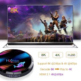 Андроид приставка  H96 MAX X3; 8K; 4/64 gb. 2