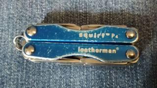 Мультитул Leatherman Squirt P4 Blue 2