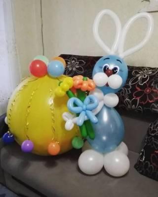 Гелиевые шарики, фигуры из шаров, Харьков 9