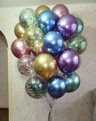 Гелиевые шарики, фигуры из шаров, Харьков 5