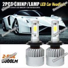Автомобильные светодиодные лампы дальнего и ближнего света H7,4,11,1,9