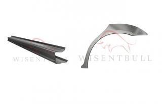 Кузовные пороги и арки для автомобилей Хонда 2