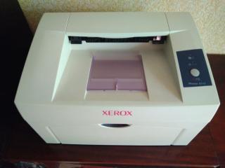 Лазерный принтер Xerox Phaser 3117 в рабочем состоянии