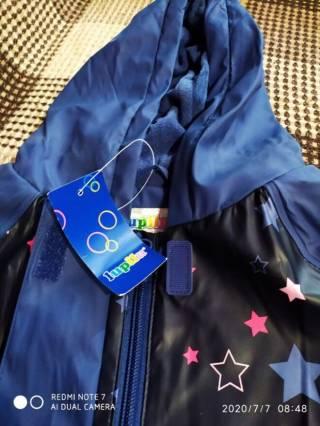Куртка дождевик утепленная лупилу lupilu 5