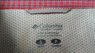 Туристическая рубашка  Columia  S 6