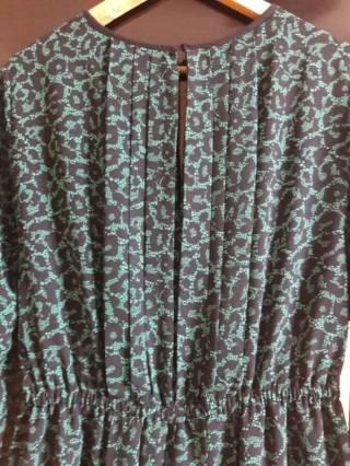 Платье с длинным рукавом с рисунком змеи Oodji 6