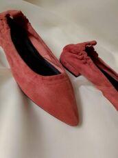 Теракотові туфлі з гострим носком Minelli 2
