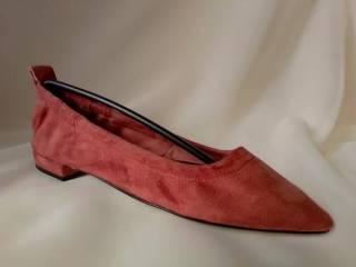 Теракотові туфлі з гострим носком Minelli 5