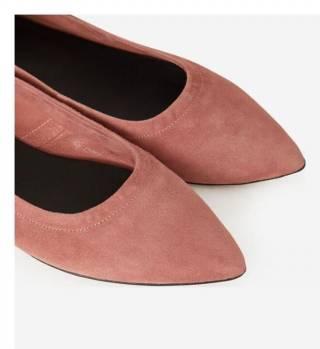 Теракотові туфлі з гострим носком Minelli 8