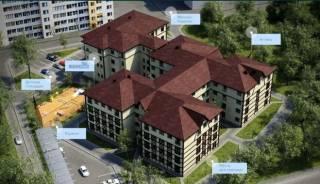 Квартира ЖК Венский дом 62 кв МЖК Интернационалист