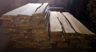 Необрезная сухая доска (дуб, ясень, ольха, сосна) 30, 50 мм. 7