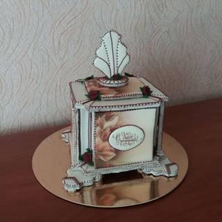 Подарок для коллеги - пряничный сувенир ручной работы
