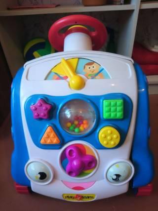 развивающий учебный центр play 2 learn  машинка монтессори